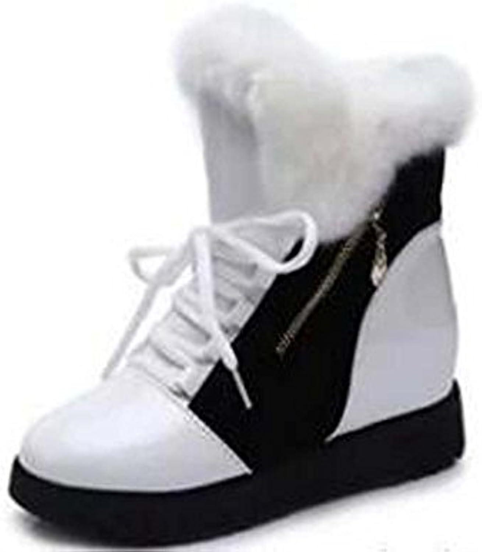 6580b9f2cf17a des bottes d hiver naughtyangel wo chaude fourrure haut souliers bottes en  cuir zip b0768gzmdj