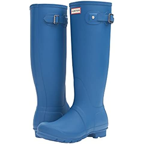 Hunter Women Original Tall WFT1000RMA-AZU, botas de agua color azul
