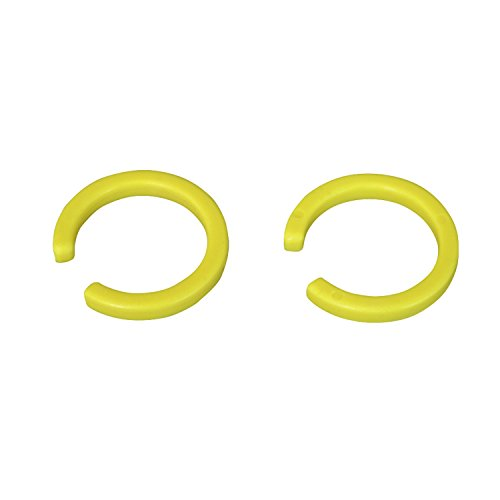 MKS Unisex C' Clip für EZY Pedale Ersatzteil, Gold, 1 Paar -