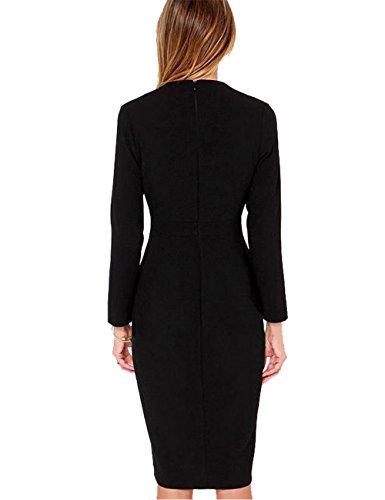 JOTHIN - Robe - Cocktail - Femme noir noir taille unique Noir