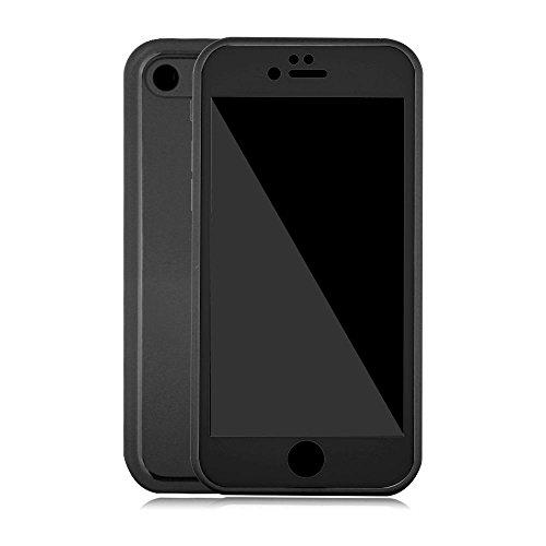 Funda resistente al agua para iPhone se/5S, iPhone 5funda impermeable. gostyle 2en 1Super delgado delgado 360grado todos los alrededor de carcasa a prueba de golpes/resistente al polvo IP68Nivel impermeable para natación/pesca/Boating, Negro