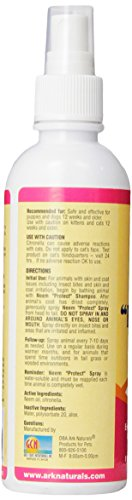 ARK Naturals PRODUCTS for PETS 326013 Neem Protect Spray, 8-Ounce 4
