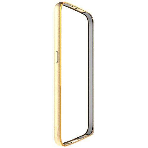 SDO Luxury Screwless Dual Tone Arc Edge Bumper Case for Xiaomi Redmi Note 4G/Redmi Note Prime - Golden