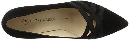 Peter Kaiser - Haissel, Scarpe col tacco Donna Nero (Nero Suede)