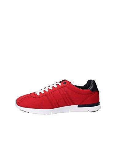 Tommy Hilfiger Retro Lightweight Sneaker, Scarpe da Ginnastica Basse Uomo Rosso