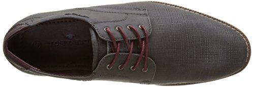 Tom Tailor - 2782001, Scarpe stringate Uomo Grau (Coal)