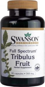 Swanson Full Spectrum Tribulus Fruit (500mg, 90 Capsules) from Swanson Health Products
