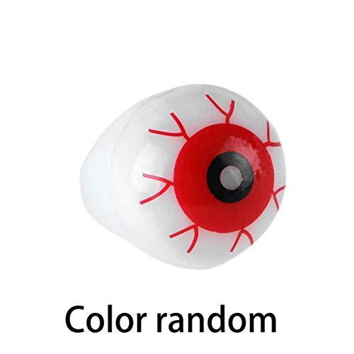 ationen Halloween Innovative Augen Leuchtenden Ring Terror Blink Ring Finger Licht Persönlichkeit Übertrieben Schmuck Zubehör Halloween Decor ()