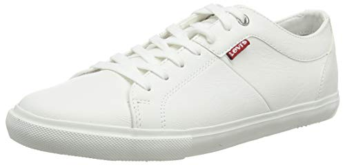 Levi's Woods, Zapatillas para Hombre, Blanco (B White 50), 42 EU