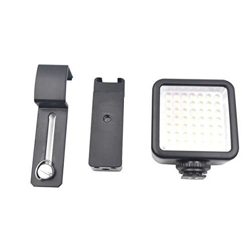 Banbie Metall Clip Unterstützung Schwarz Aluminium Material Durable Kit & LED Lichter Für DJI Osmo Taschenständer Halter Zubehör Kit - Top Link Assembly