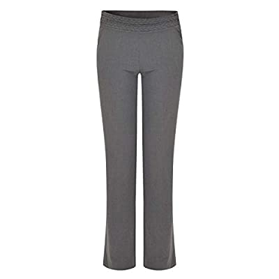 Ex UK store Girls School Trousers Adjustable Waist Cable Belt Look : everything five pounds (or less!)