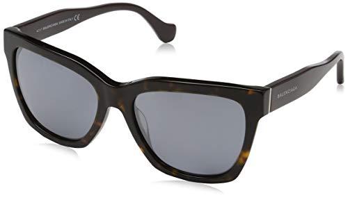 Balenciaga Damen Sunglasses Ba0098 52C-55-17-140 Sonnenbrille, Mehrfarbig, 55