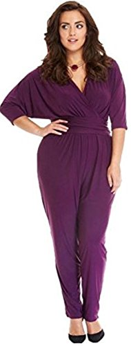 HarrowandSmith -  Vestito  - fasciante - Donna Purple