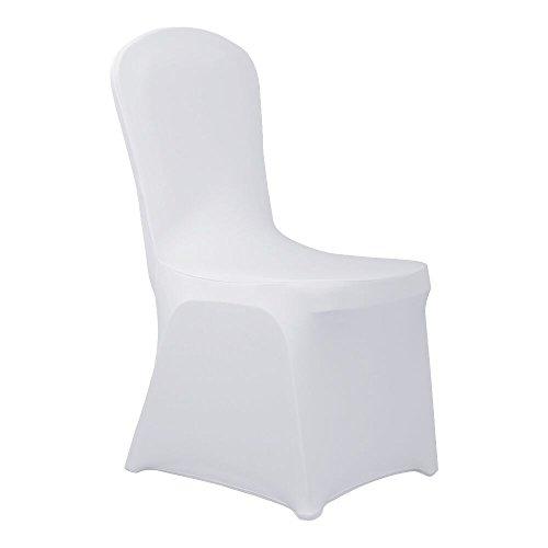 HAORUI Conjunto de Cubiertas Spandex Stretch Lycra Chair de 4 Modernas Fundas...