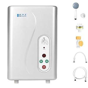 BASDW Calentador de Agua eléctrico Calentador de Agua instantáneo Calentador de Agua sin Tanque para la Cocina del baño