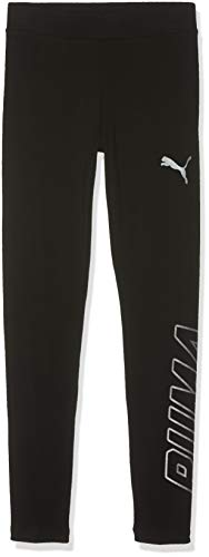 Puma Mädchen Alpha Leggings G Sporthose, Cotton Black, 152