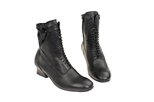 Think Damen Elisa Desert Boots Schwarz -Think Damen Elisa Desert ... 8e02840e94