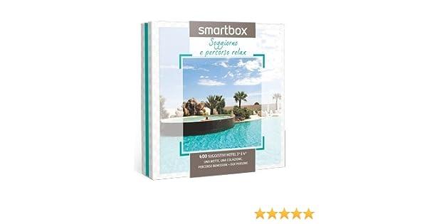 Cofanetto regalo Smartbox Soggiorno E Percorso Relax: Amazon.it ...