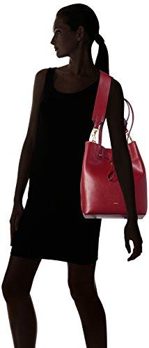 JOOP - Grano Colorblocking Lyda Matchsack Mvo, Borsa a spalla Donna Rot (Dark Red)