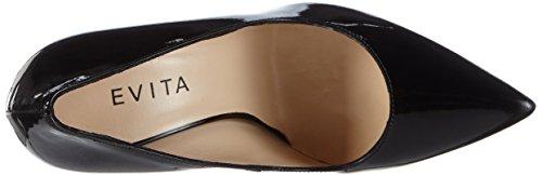 Evita Shoes Damen Pump Pumps Schwarz (schwarz 10)