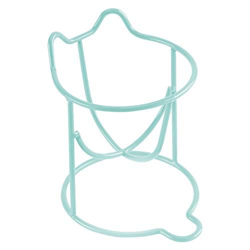 Sunlera Katzen-Muster Gourd Ei Puderquaste Dryer Halter Make-up Schwamm Storage Rack Puff Trocknen Regal