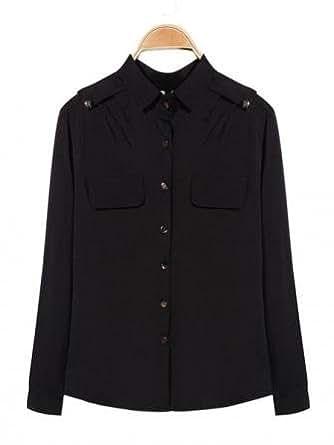 Bheema mousseline de soie couleur pure blouses de carrière