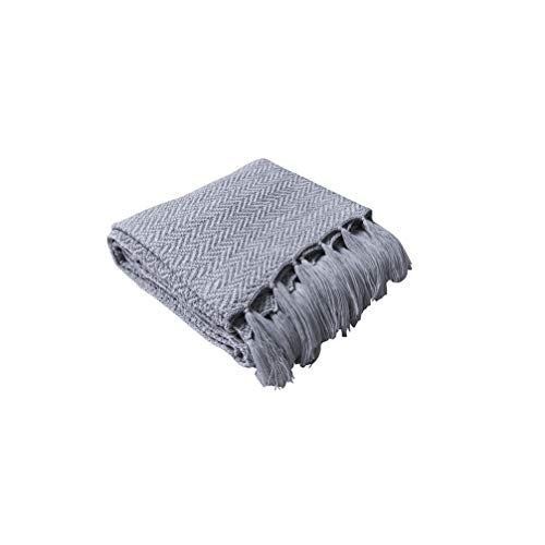 HYwot Caldera Acryl Decke Stricken Sofa Decke Weiche Geladene Fotografie Requisiten,a7 -