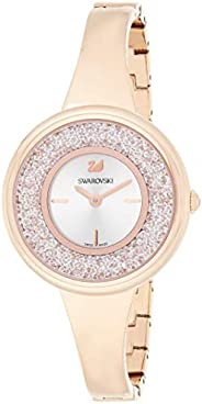 Swarovski Womens Quartz Watch, Analog Display and Stainless Steel Strap