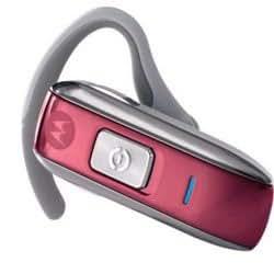 Genuine Motorola H550 Bluetooth Headset - Pink