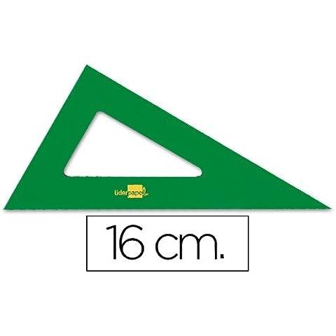Faber-Castell - Cartabon liderpapel 16 cm acrilico verde (10 unidades)