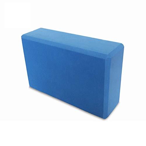 LF Stores - Fitnessgeräte Yoga-Ziegelsteine   mit hoher Dichte unscented Yoga Pillow Foam (Color : Blue) - Unscented Foam