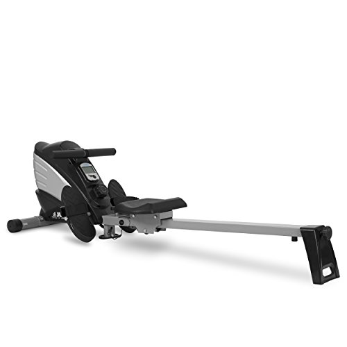31wICUIWcEL. SS500  - JLL® R200 Home Rowing Machine, 2020 Model Rowing Machine Fitness Cardio Workout with Adjustable Resistance, Advanced Driving Belt System, 12-Month Warranty, Black and Silver Colour
