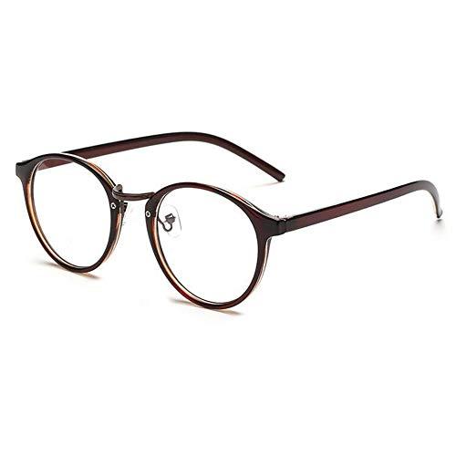 Kurzsichtigkeit Brille Myopia Brille Mode Cat Eye Myopie Brillen kurze Schaugläser Unisex-kurzsichtige Gläser -1.0 ~ -4.0 (braune Farbe), 45-50-16-140, -2.50