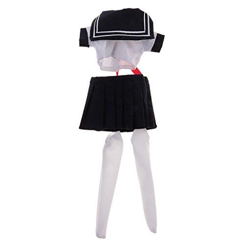 Baoblaze 1/6 Frauen Mädchen Action Figur Kleidung - Japanische Schule Uniform Schuluniform Set - Japanische Schule, Kleidung