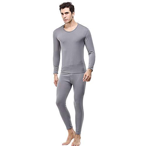 Saingace Thermounterwäsche Set Herren(Hemd mit Hose) - Warm, Weich, Atmungsaktiv mit Klimafaser - Größen M-XL