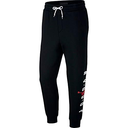 timeless design 8040e 0add8 Nike Jumpman Air GFX Fleece Pant Pantaloni Sportivi, Uomo, Nero (Black Gym