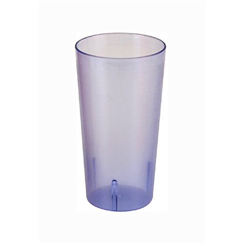 SET OF 12 CUPS 32 OZ TALL TUMBLER, POLYCARBONATE CUP BLUE UNBREAKABLE BAR SAFE DURABLE RELIABLE RESTAURANT DINER BAR GLASS by AmGood Blue Tall Cup