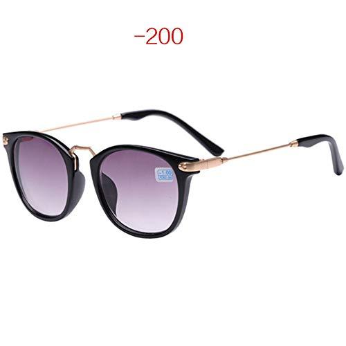 ZHOUYF Sonnenbrille Fahrerbrille Myopie Sonnenbrille Frauen Männer Katzenauge Sonnenbrille Kurzsichtige Brillen Rezept -1,0-2,0-2,5-3,0-3,5-4,0, C