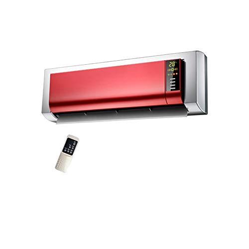 Radiateurs électriques CJC 2000W PTC Céramique Chauffage Éloigné Contrôle Mural Numérique LCD Afficher Rouge 3 La Vitesse Réglage