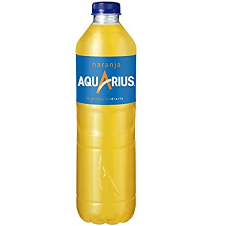 Aquarius Naranja Bebida para deportistas refresco sin gas 1 5 l Botella de pl stico