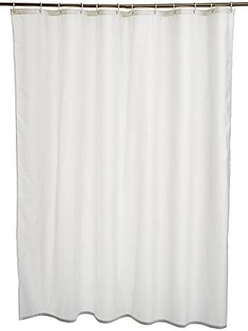 Tissus Rideaux - AmazonBasics Rideau de douche en polyester 180x200cm