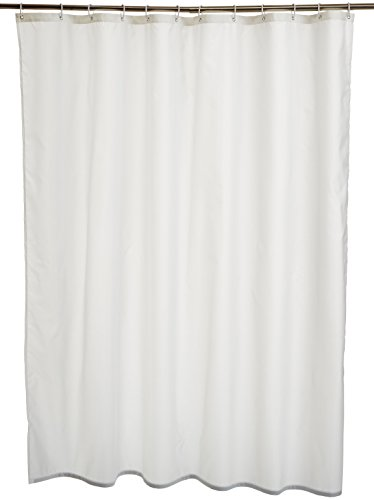 AmazonBasics - Cortina ducha poliéster 180 x 180