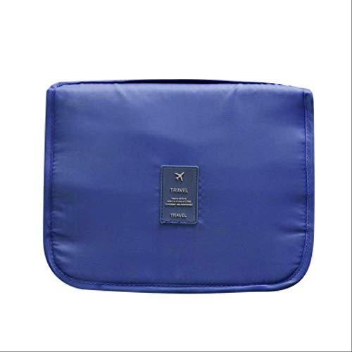 Pacchetto Wbdd Viaggi Portatile Trucco Borsa Twill Oxford Cloth Hanging Folding Wash Sacchetto 8