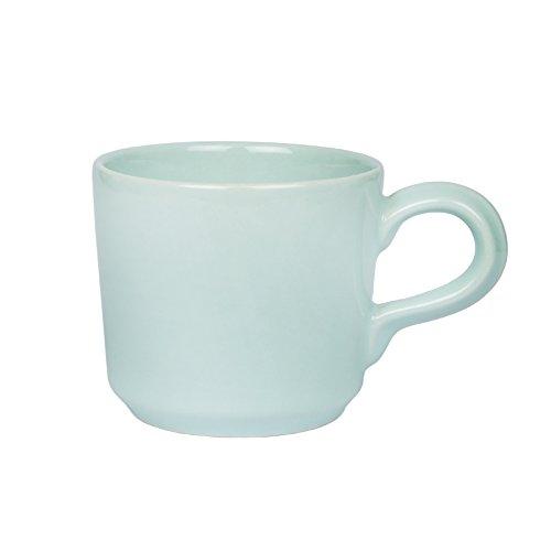 Gina Da Landhaus Tasse Riva Soft Mint Grün Kaffeebecher Shabby Chic Landhaus 200ml (Tasse)