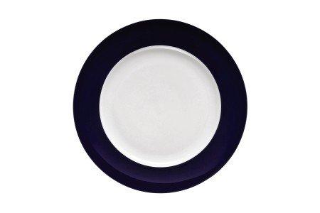 Rosenthal - Thomas - Sunny Day Frühstücksteller - Kuchenteller - Teller - Cobald Blue - Kobaltblau Ø 22 cm