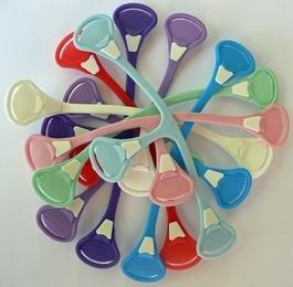 Attache Snappi boutons pression-Lot de 3(Mint Color Mix)