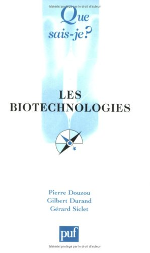 Les Biotechnologies