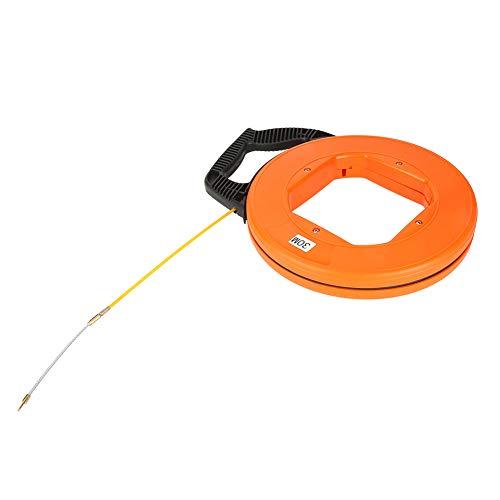 30m Fiberglas-Kabel-Abziehvorrichtung, die Draht-Kabelsatz-elektrische Zug-Schubstangen-Fisch-Band-Satz läuft