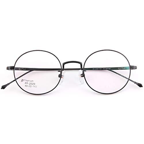 Blue Light Blocking Brillen, bewegliche Brillen, gegen Ermüdung, optische Brillen für Männer, Metall-Brille für Schüler, Männer und Frauen, Rahmen, die Beine -