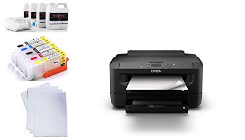 Stampante a sublimazione DIN A3inkl inchiostro 200ML usato  Spedito ovunque in Italia
